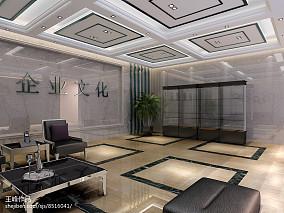 欧式豪华休闲区吊顶图片