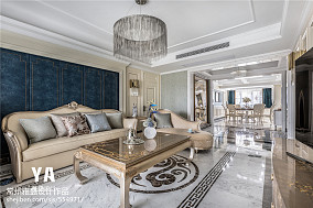 2018面积97平三居客厅装饰图片家装装修案例效果图