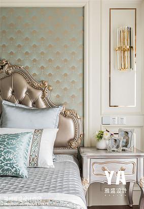 精美111平法式三居卧室设计图三居欧式豪华家装装修案例效果图