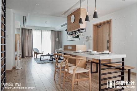 2018精选面积89平日式二居餐厅装修欣赏图片厨房