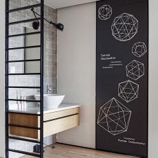 典雅77平日式二居卫生间装饰图