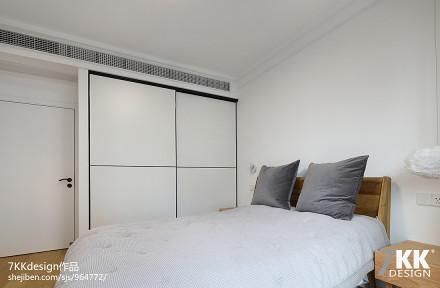 华丽76平日式二居卧室效果图欣赏卧室