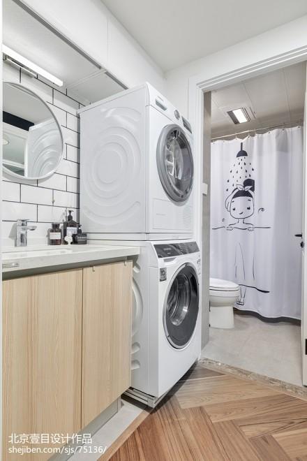温馨39平简约小户型卫生间设计效果图卫生间