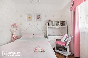 精选面积94平美式三居儿童房装修实景图片欣赏