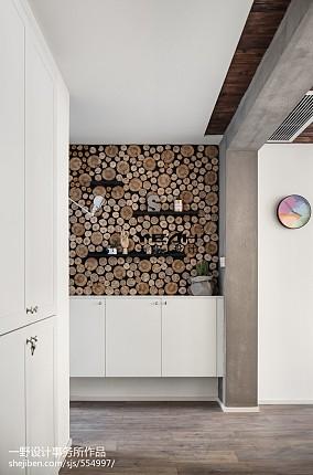 73m²北欧风格玄关设计图玄关北欧极简设计图片赏析