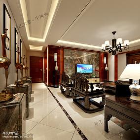 热门140平方混搭别墅客厅装修实景图片大全