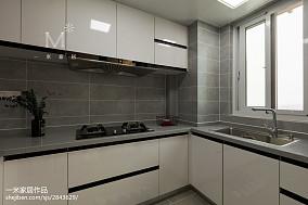 简洁51平现代二居厨房效果图