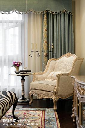 热门110平方欧式别墅卧室效果图别墅豪宅欧式豪华家装装修案例效果图