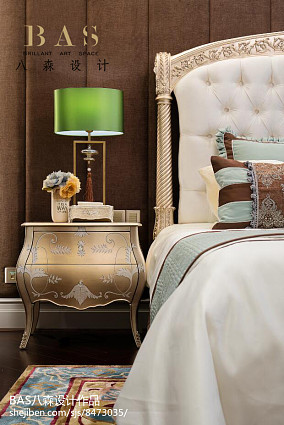 平米欧式别墅卧室装修欣赏图别墅豪宅欧式豪华家装装修案例效果图