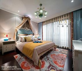 精美112平米欧式别墅卧室实景图别墅豪宅欧式豪华家装装修案例效果图