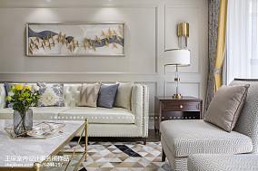 精选美式四居客厅实景图片客厅1图美式经典设计图片赏析