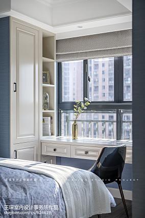 精选110平米四居卧室美式装修设计效果图片大全