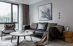 精致133平简约三居客厅图片欣赏