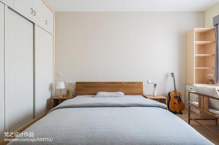 2018精选面积93平中式三居卧室欣赏图