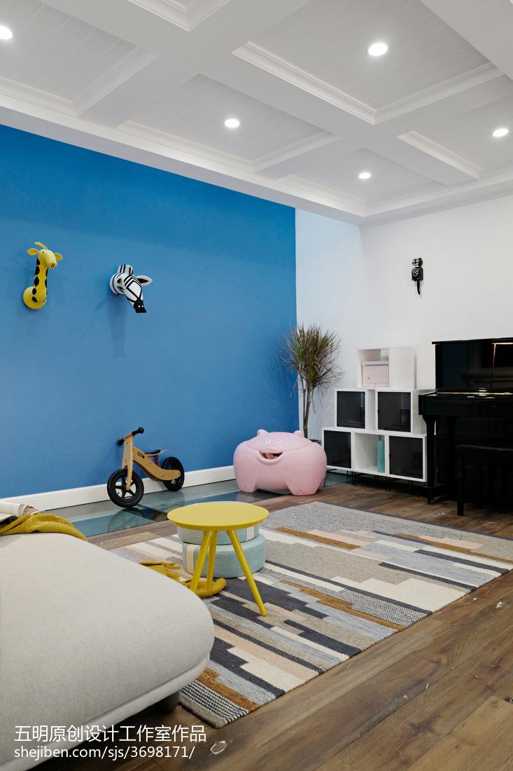 典雅704平混搭别墅客厅设计美图客厅