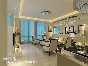 2018精选面积89平简约二居客厅装修设计效果图片大全