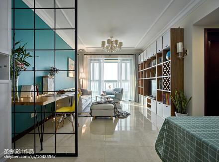 典雅64平宜家二居客厅装饰图片