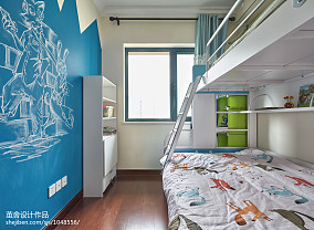热门70平米二居儿童房宜家装饰图片大全