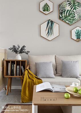 精选73平米二居客厅宜家装修欣赏图片大全