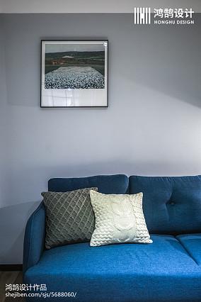 2018大小86平北欧二居客厅装饰图片大全
