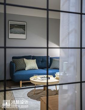 热门76平米二居客厅北欧欣赏图