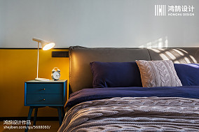 热门二居卧室北欧装修图