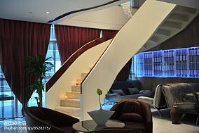 美式客厅过道吊顶效果图
