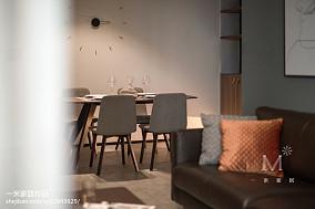 2018精选88平米二居餐厅现代设计效果图