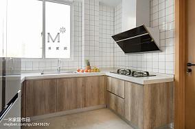 精美74平简约二居厨房装修设计图