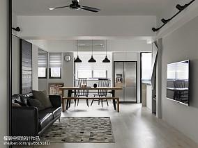 精选面积83平现代二居客厅效果图片大全