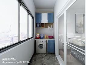 2018精选面积90平公寓北欧装修设计效果图片