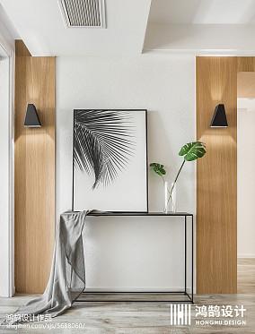 典雅91平北欧三居效果图欣赏三居北欧极简家装装修案例效果图