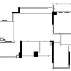 质朴82平现代三居设计图