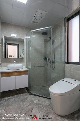 热门122平米复式卫生间装修设计效果图片大全