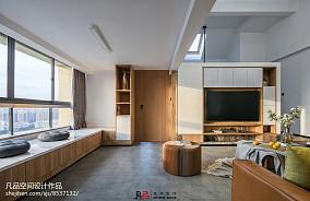 热门118平米复式客厅装修欣赏图片大全