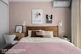 优美99平混搭三居卧室装饰美图卧室设计图片赏析