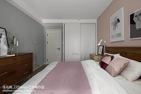优美128平混搭三居卧室效果图卧室潮流混搭设计图片赏析