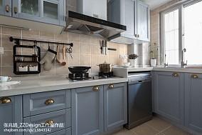 混搭三居厨房设计实景图片餐厅2图潮流混搭设计图片赏析