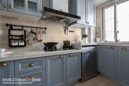 混搭三居厨房设计实景图片餐厅