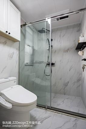 大气116平混搭三居卫生间图片欣赏卫生间2图潮流混搭设计图片赏析