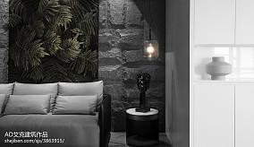 热门面积112平别墅客厅现代装饰图片欣赏