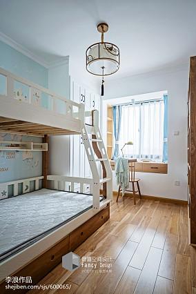 精致105平中式四居装潢图四居及以上中式现代家装装修案例效果图