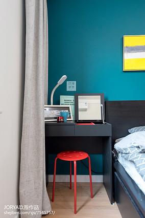 明亮95平美式三居设计案例三居美式经典家装装修案例效果图