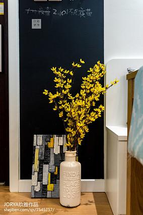 华丽94平美式三居装潢图三居美式经典家装装修案例效果图