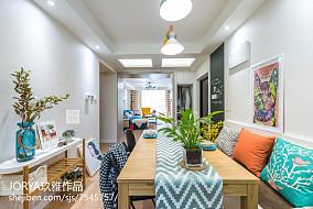 优雅88平美式三居装修装饰图三居美式经典家装装修案例效果图