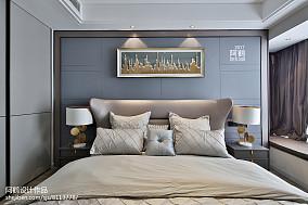 精致150平简约四居卧室装潢图