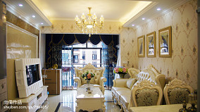 欧式新古典客厅装修