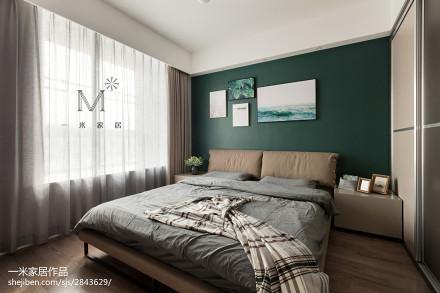 精选79平米二居卧室现代装修设计效果图片欣赏