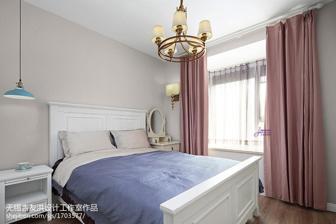 二居美式主卧设计图片卧室美式经典卧室设计图片赏析