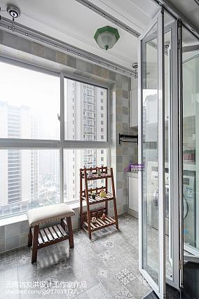 热门二居阳台美式实景图片大全